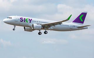 Airbus A320 Neo Sky Airline CC-AZC