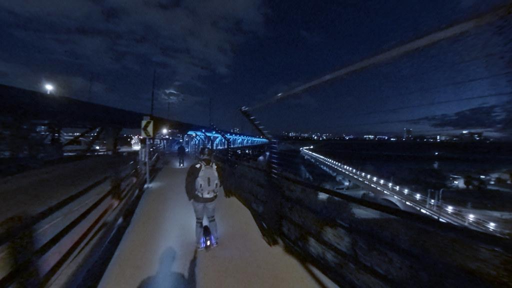 Night ride 1809