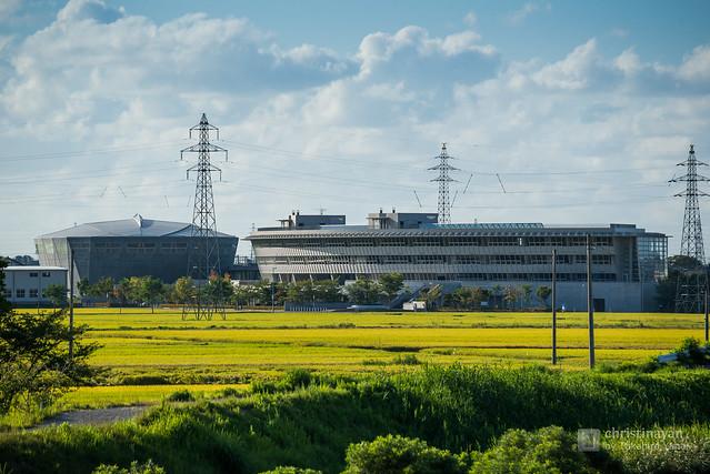 Full view of Kuzutsuka Junior High School (新潟市立葛塚中学校)