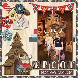 Epcot - Norway Pavilion