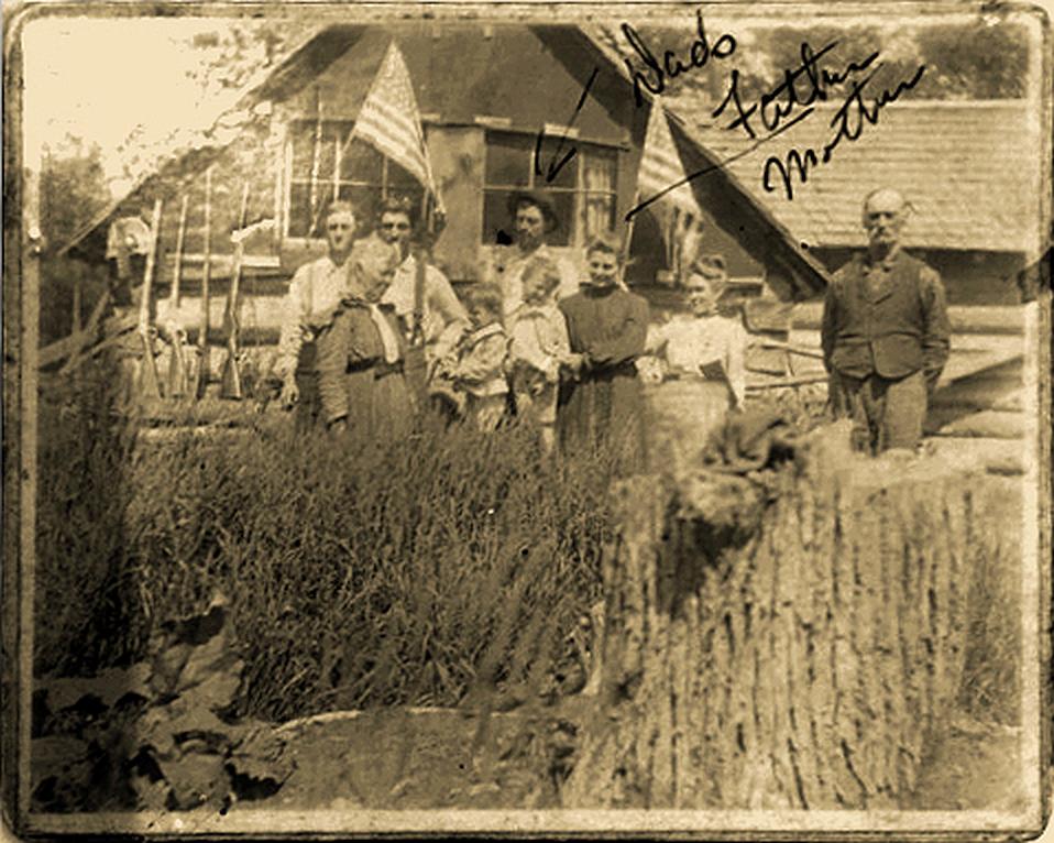 Kitchel John Anna Jesse Steven abt 1903