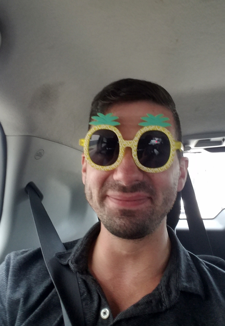 Pineapple Goggles