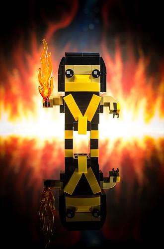 Scorpion BrickHead