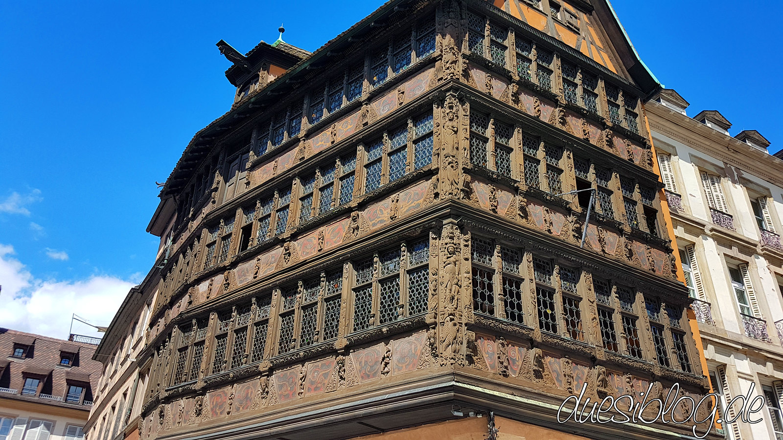 Maison Kammerzell Strasbourg duesiblog travelblog 03