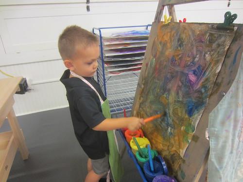 a thorough artist