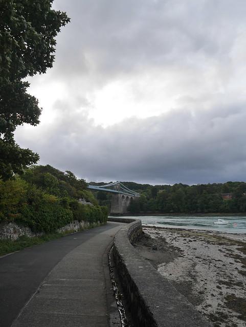 Promenade to Menai Suspension, Panasonic DMC-GF7, LUMIX G VARIO 14-42mm F3.5-5.6
