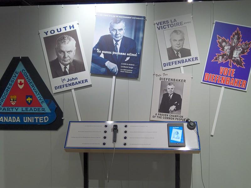 John Diefenbaker Campaign Material