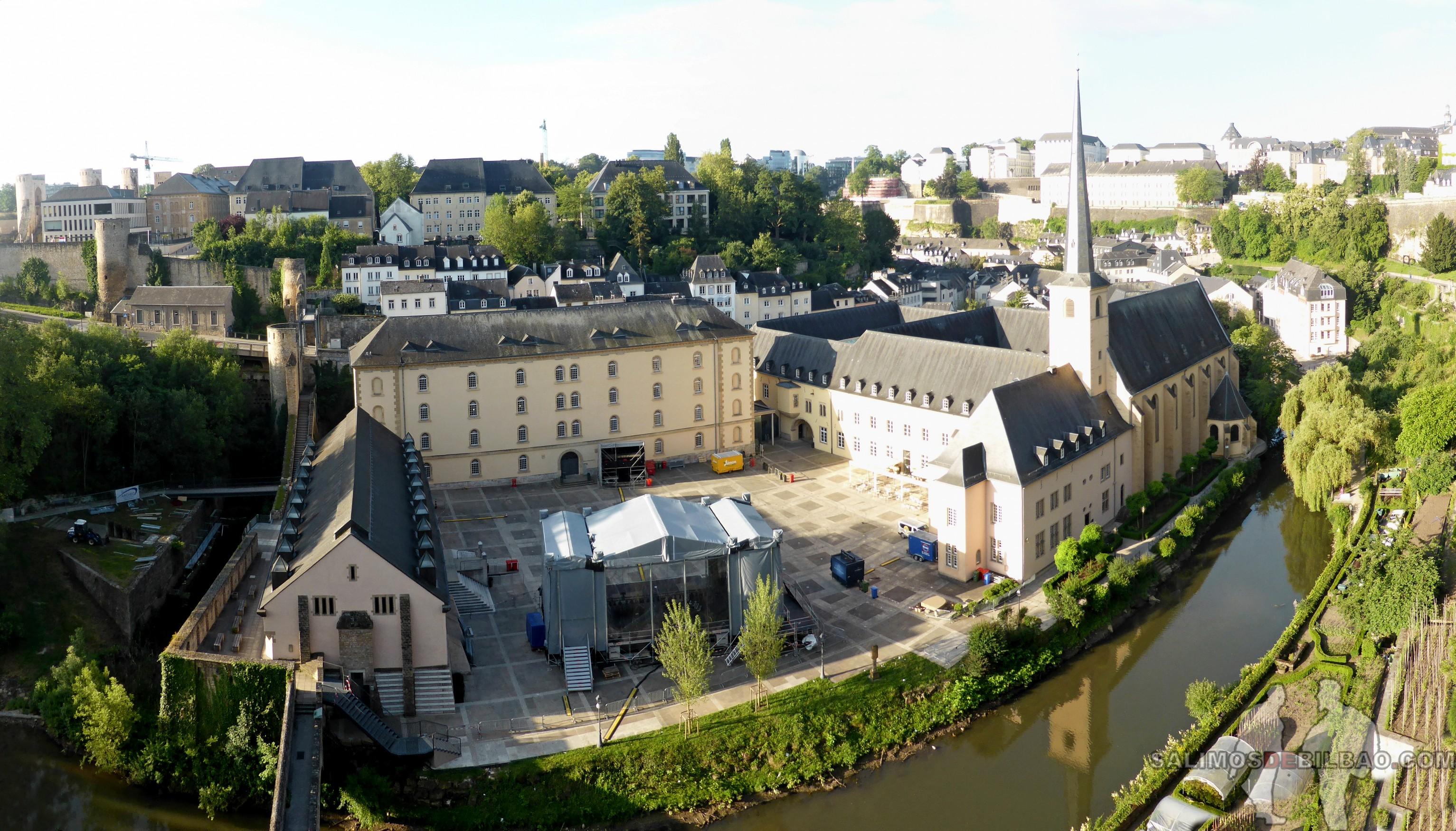102. Pano, Barrio Bajo desde el Barrio Alto, Luxemburgo