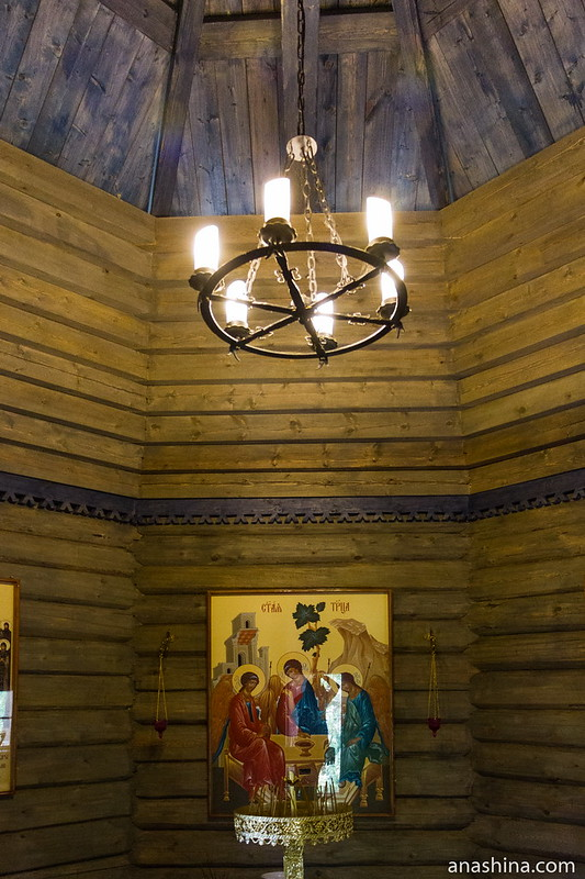 Часовня преподобного Сергия Радонежского, Рауталахти, Северная Фиваида, Карелия