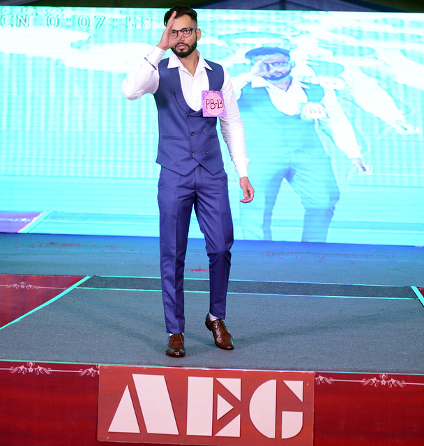 AEG #FreshersParty 2018 - ABS Students on the Ramp