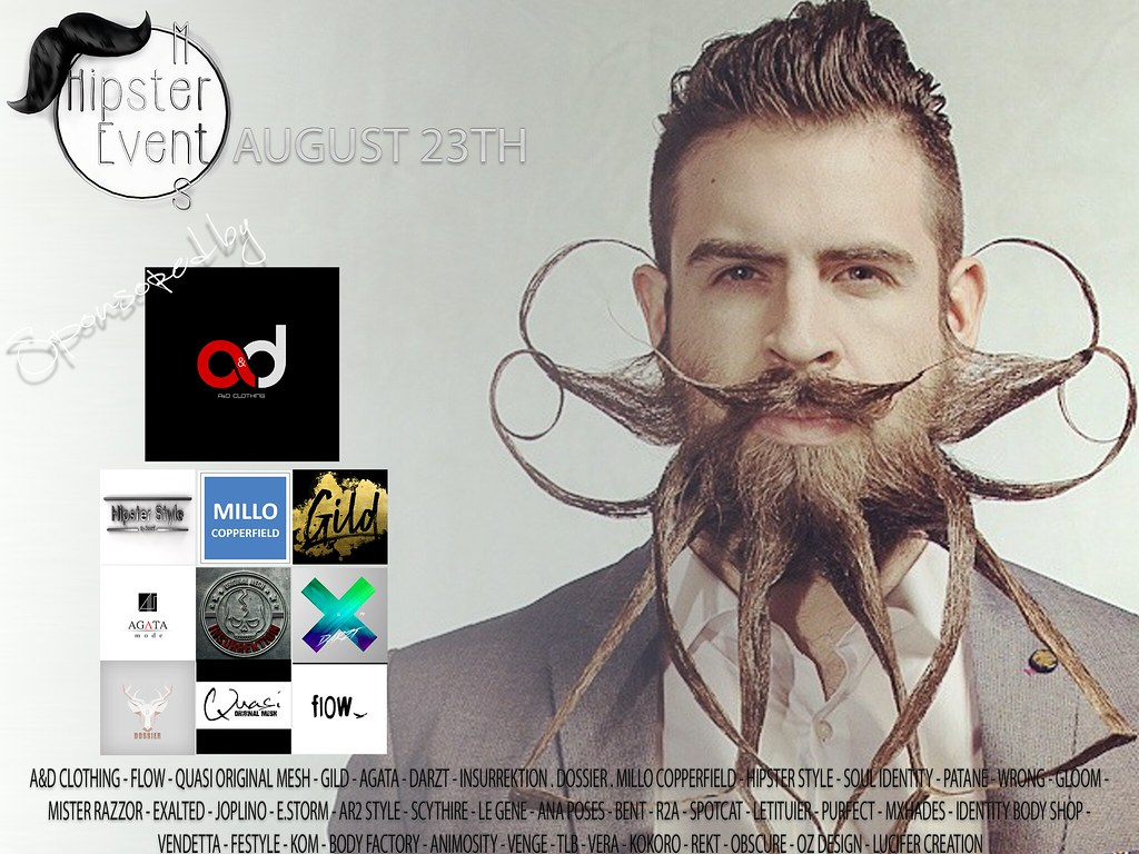Hipster Men Event AUGUST ROUND - TeleportHub.com Live!