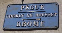 Le Pégue, Drome