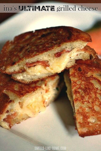Ina's ultimate grilled cheese