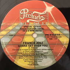 FRANCE JOLI:GONNA GET OVER YOU(LABEL SIDE-A)
