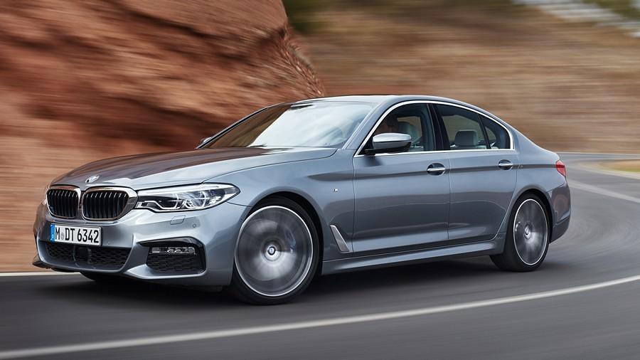 BMW serija 5 vozenje
