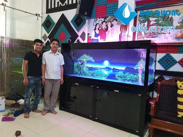 Hồ cá rồng tại Đồng Tháp