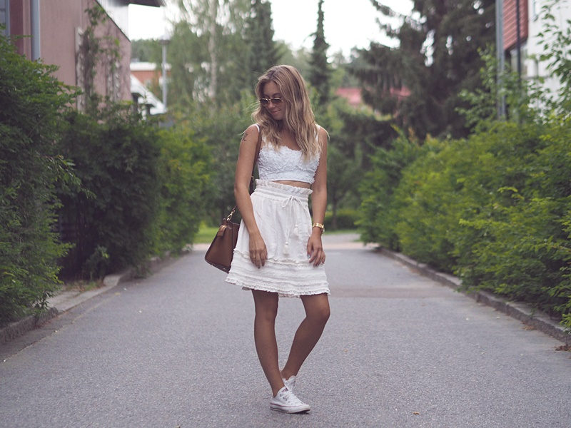 all white summer outfit ideas