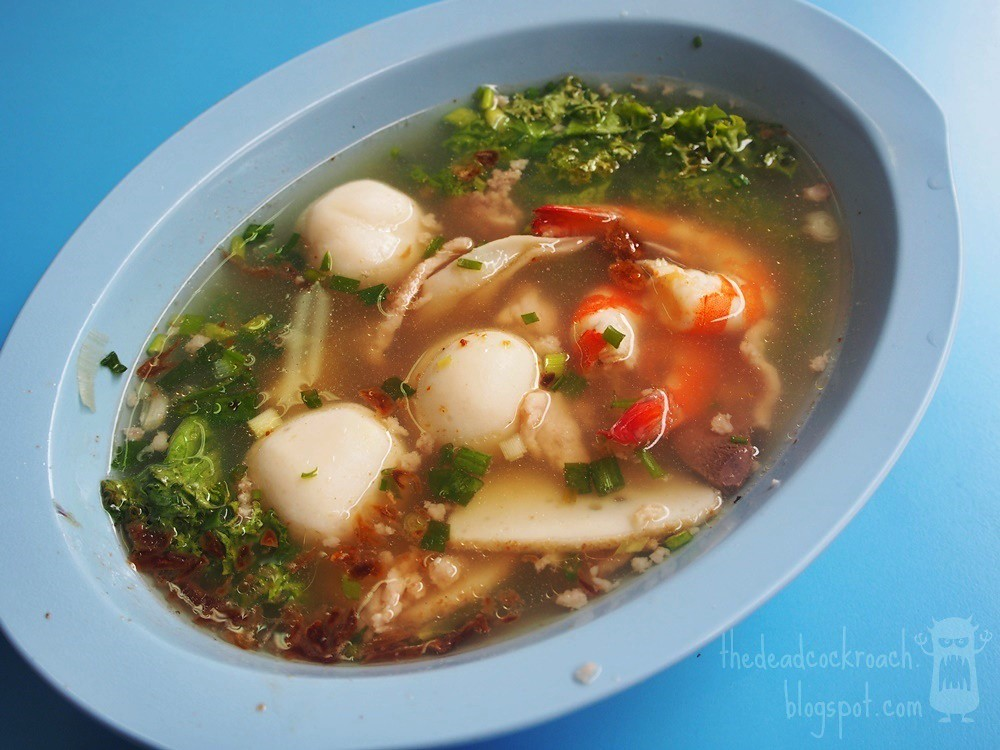 army market, beach road, fei zhu teochew fishball & mushroom minced meat noodle, food, food review, golden mile, golden mile food centre, review, singapore, teochew bak chor mee, teochew minced meat noodle,