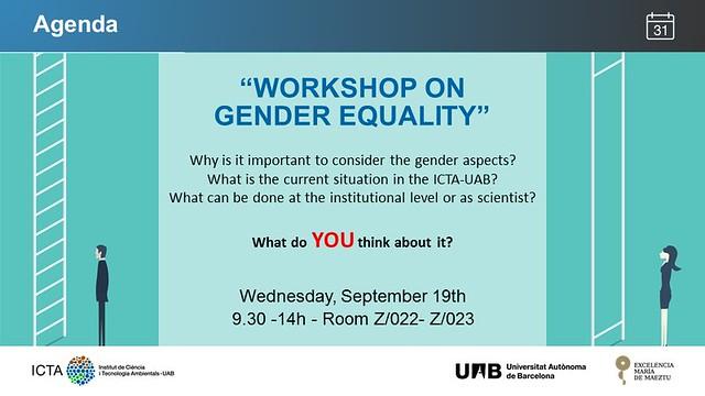 Workshop Gender Equality