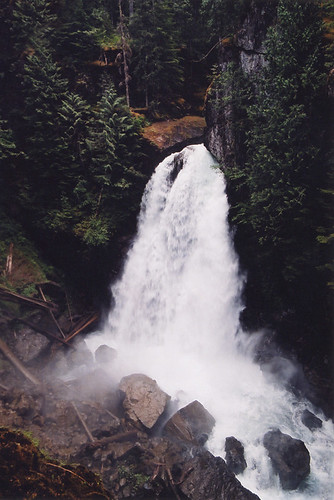 Englishman's Falls, a waterfall near Fanny Bay on Vancouver Island, Canada
