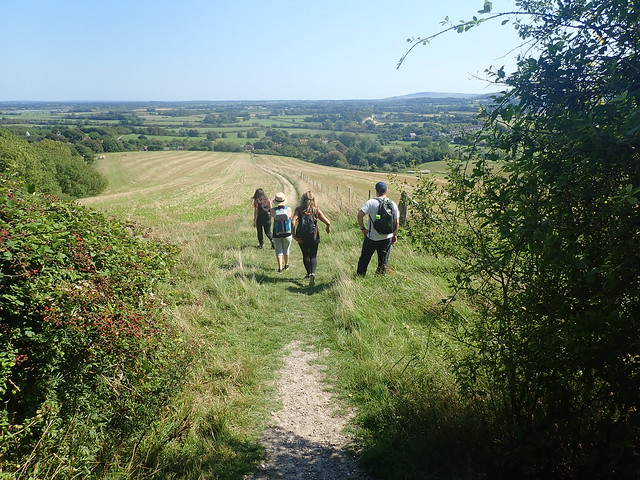 Lewes to Seaford via West Firle