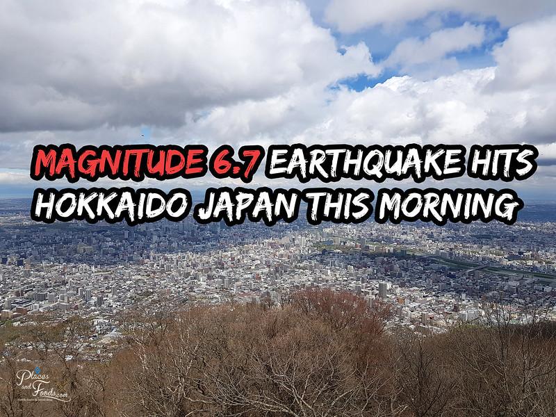 earthquake hokkaido