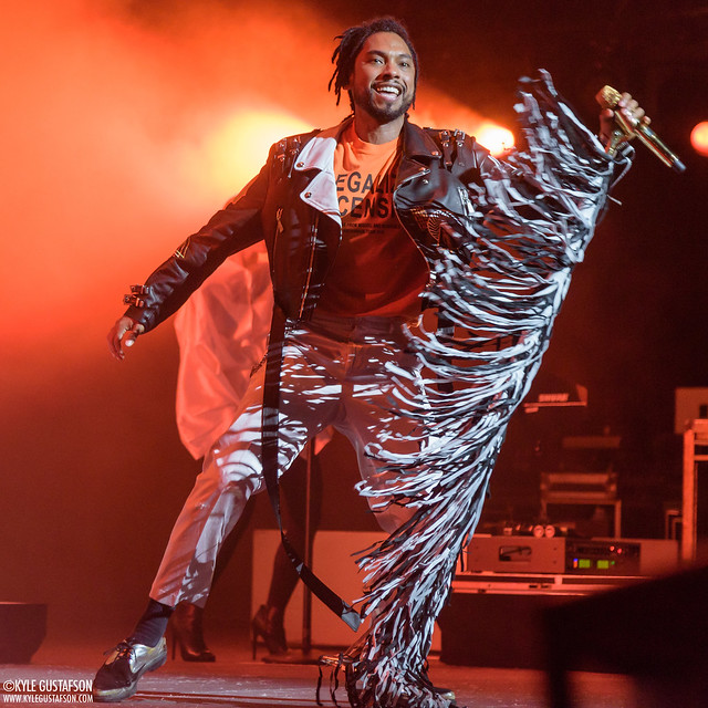 Miguel performs at The Anthem in Washington, D.C.