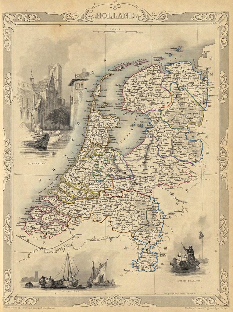 John Tallis - Holland (1851)