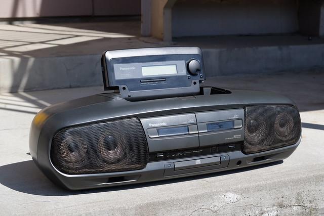 Panasonic RX-DT77