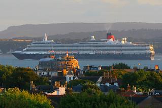 Queen Victoria, The Solent, August 10th 2018