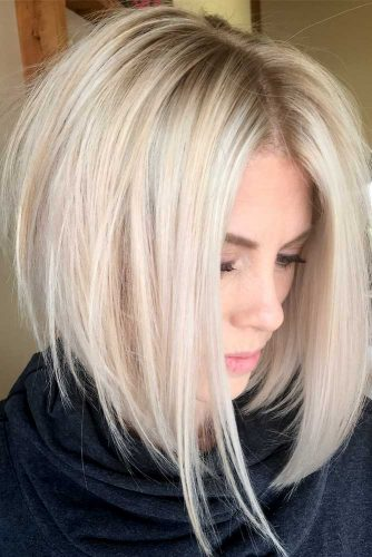 Best Medium Length Haircuts For Thick Hair 2019 -Amazing Look 7