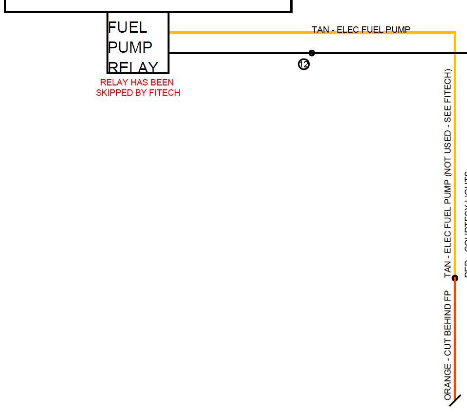 Fitech 600 Fuel Pump wiring