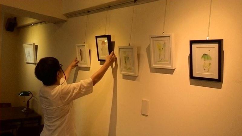 貳月不定期舉辦的手作課程和藝文展覽,都圍繞著店裡的風格。圖/取自貳月咖啡粉專。