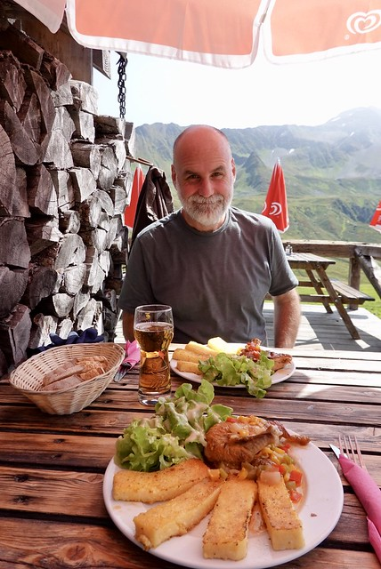 Lunch at the Alpage de Balme