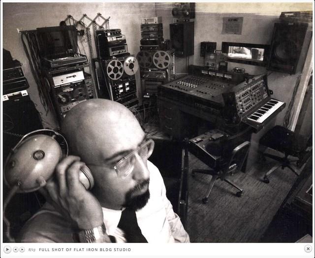 Irv Teibel-Syntonic studio NYC