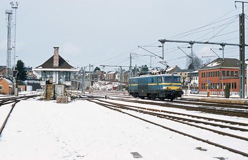 HLE 1504 SNCB, Gouvy, 10th February 2004