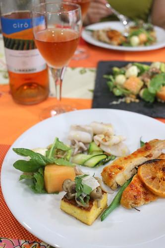 イタリア ロザートワインとおつまみレッスン