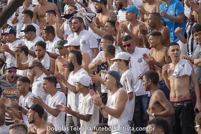 Torcida do Santos na Vila Belmiro