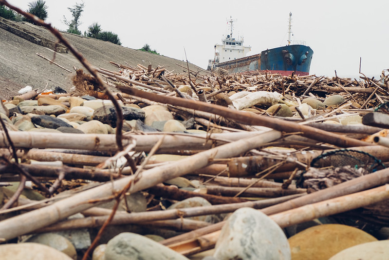 擱淺|ship stranded