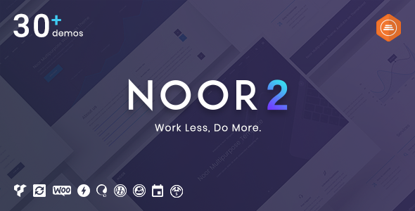 Noor v2.8.5 – Multi-Purpose & Fully Customizable Creative AMP Theme