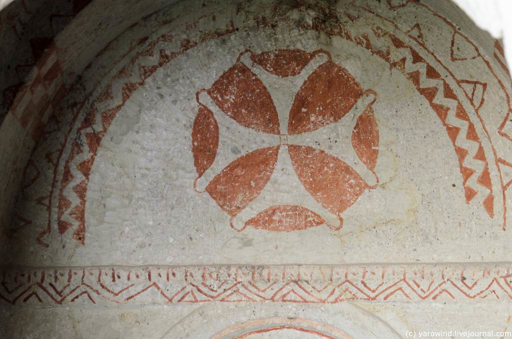 Пещерные храмы Гереме, ч.2