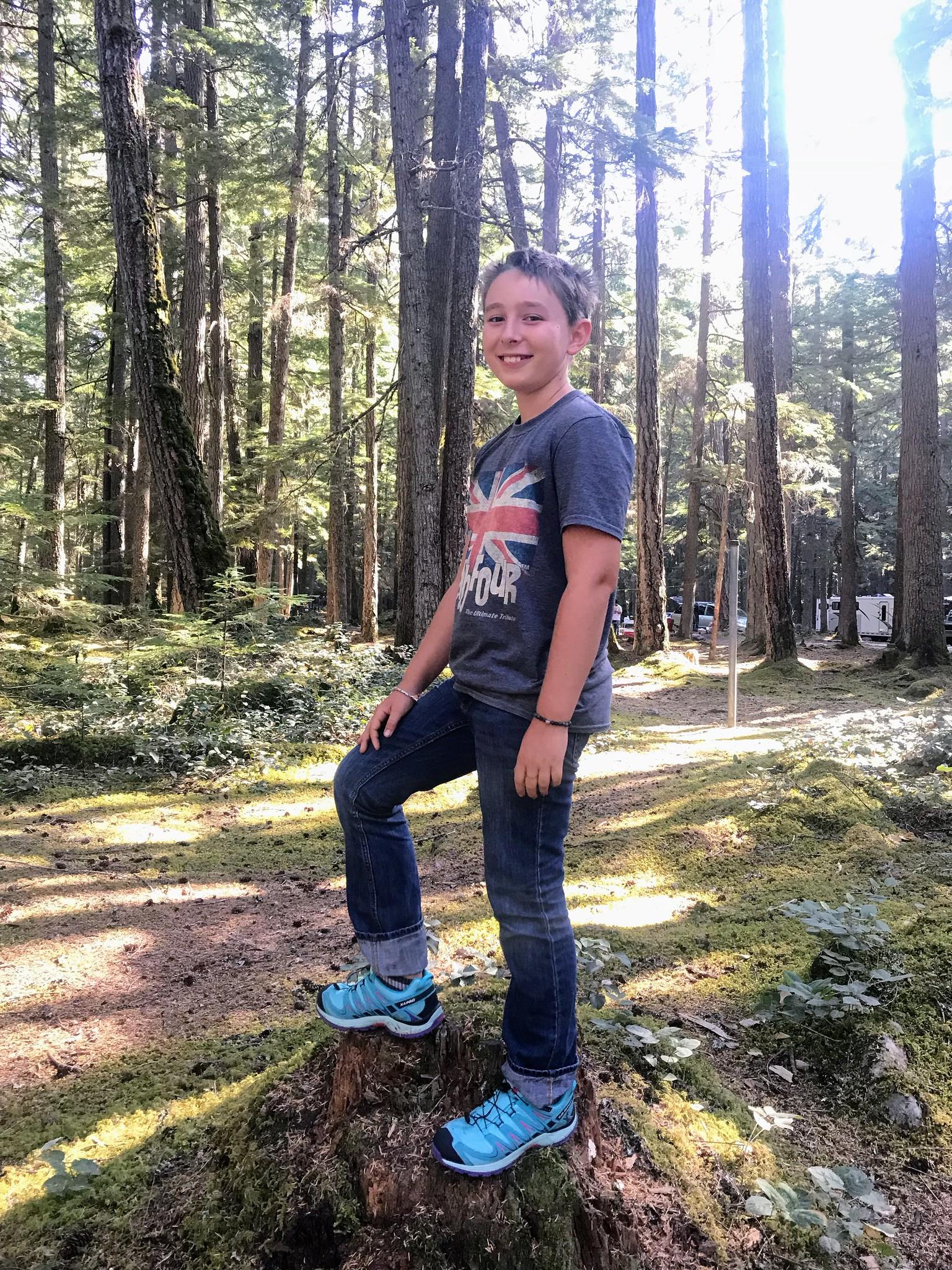 Casper at Buck Creek Campground