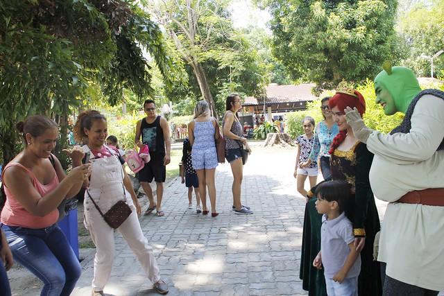 10.09.18 Parque Cidade da Criança abre seleção para voluntários em alusão a Semana da Criança.