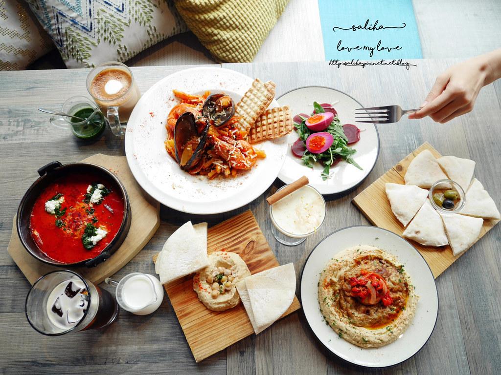 台北大安區好吃早午餐異國料理中東菜推薦吐司利亞咖啡館 (4)