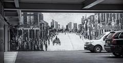 Mural car park