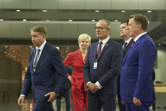 21.08.2018. Bibliotēka. Latvijas un Igaunijas valdību sēde
