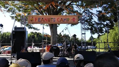 ピーナッツキャンプ2018 3人でサービス