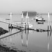 Floating Dock in Lubec, Maine by Ken Krach Photography