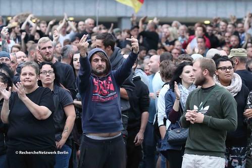 27.08.2018 Chemnitz: Neonazistischer Aufstand mit Ankündigung