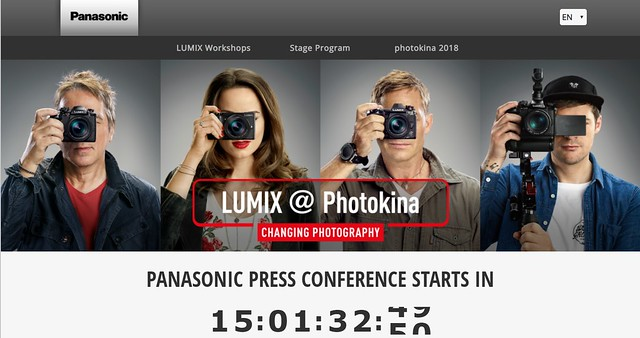 Panasonic lumix countdown
